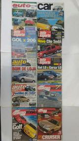 10 Revistas Auto Esporte Quatro Rodas Automóvel Frete Grátis