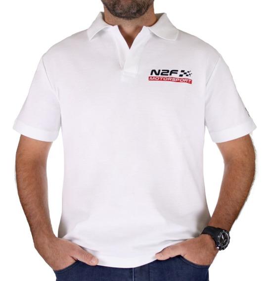Polo N2f Motorsport Para Hombre Manga Corta