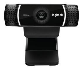 Webcam Logitech C922 Pro Full Hd 1080p C/ Tripé S/ Juros