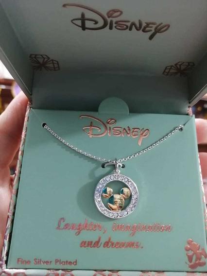 Gargantilla Mickey Mouse Original Con Caja