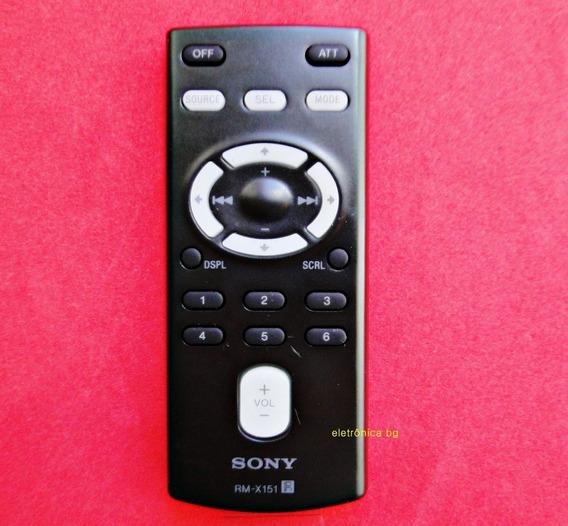 Controle Autoradio Som Automotivo Usb Sony Rm-x151