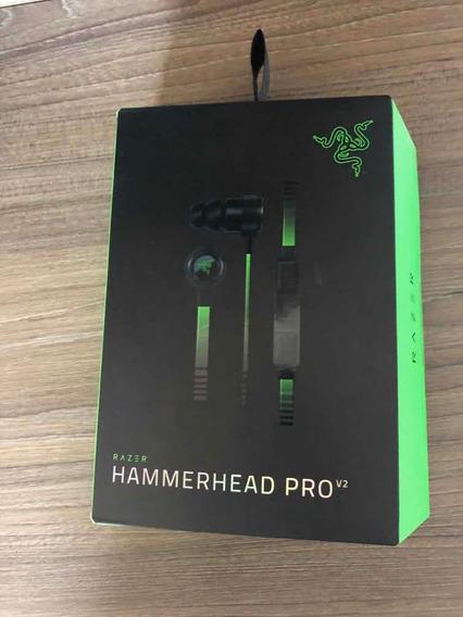 Fone Razer Hammerhead Pro V2 Original Com Microfone
