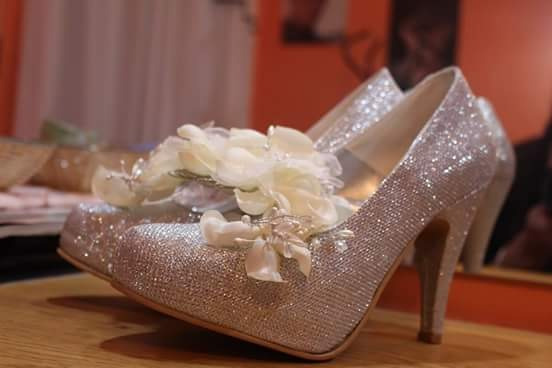 Zapato De Casamiento Sin La Peineta