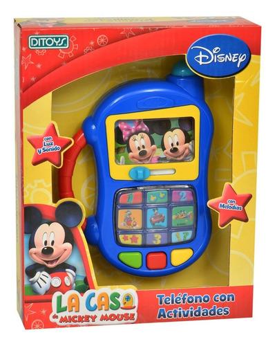 Telefono Con Actividades Mickey (1307)