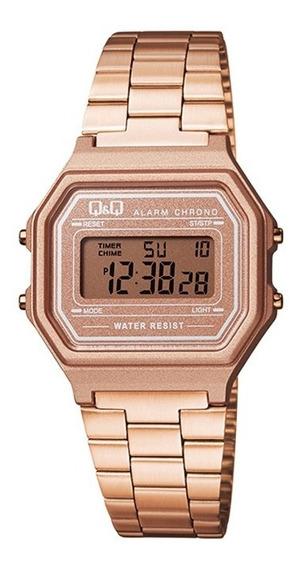 Relógio Q&q Vintage Feminino Rosé M173j006y C/ Nf