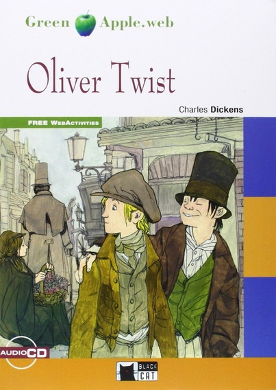 Oliver Twist - Audio Cd+web Activities - Black Cat