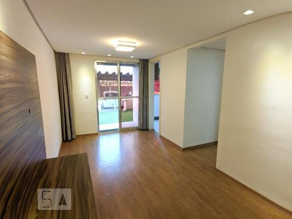 Apartamento No 1º Andar Com 2 Dormitórios E 1 Garagem - Id: 892945864 - 245864