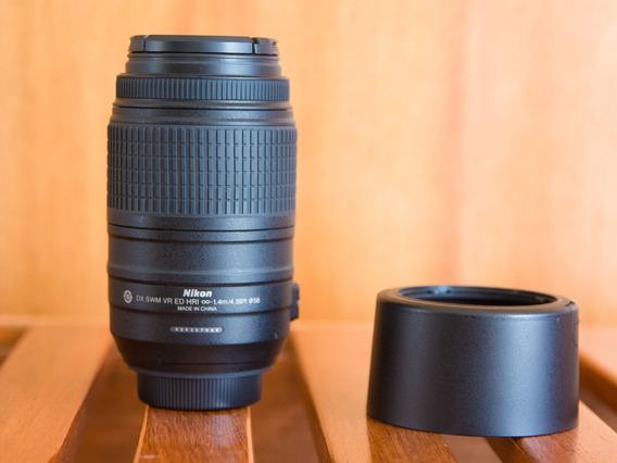 Lente Nikon 55-300mm F/4.5-5.6g Ed Af-s Dx Vr
