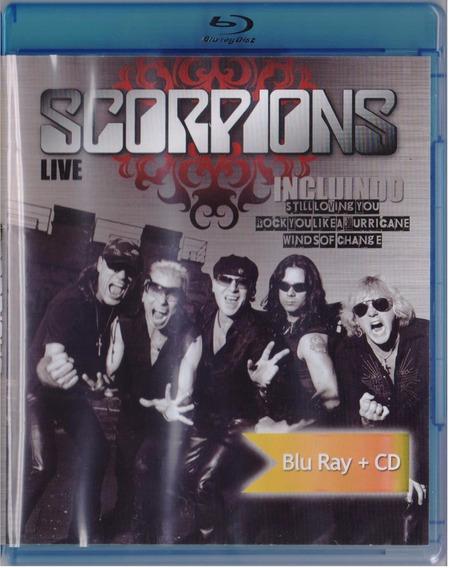 Scorpions Live Polonia 2005 En Vivo Concierto Blu-ray + Cd