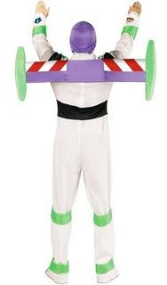 Disfraz Para Adulto De Buzz Lightyear Toy Story Talla Xl