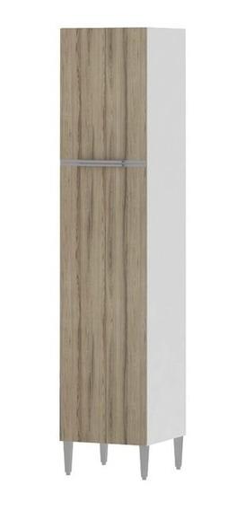 Armário Alto 500 Paneleiro Branco E Desira - Aroma