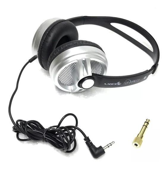 Headphone Fone Djs Lyco Lc Pro 300 Profissional E Nfe
