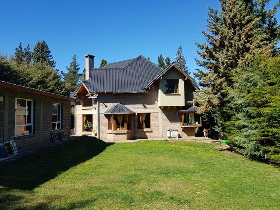 Hermosa Casa Estilo Chalet Patagónico En La Cordillera