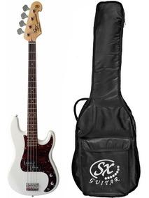 Contrabaixo Baixo Precision Bass 4 Cordas Sx Bd2 Com Bag