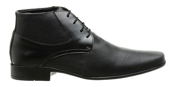 Sapato Social Masculino Bota Cano Baixo Qualidade E Conforto