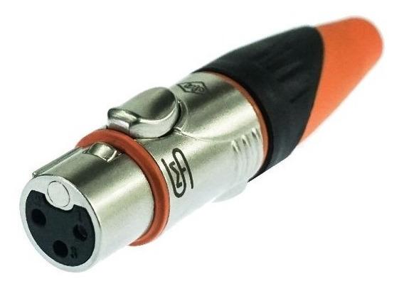 Plug Conector Smart Pro Xlr 1 Femia E 1 Macho