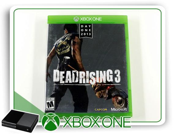 Dead Rising 3 Original Xbox One Xone - Mídia Física