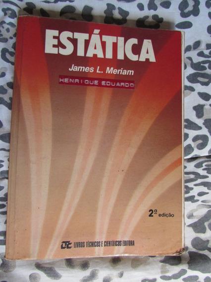 Estática - James L. Meriam 2ª Edição