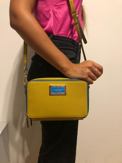 Cartera Jackie Smith Claire In Colors - Mostaza