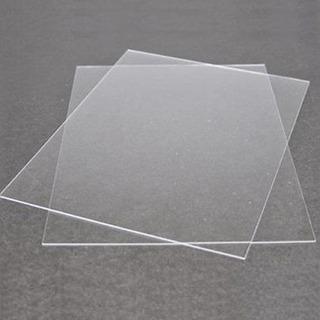 Chapa De Acrílico Transp 1m X 50cm - 2mm De Espessura
