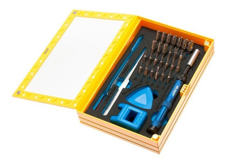 Kit X37 Destornilladores Yaxun Yx-6021 + Herramientas