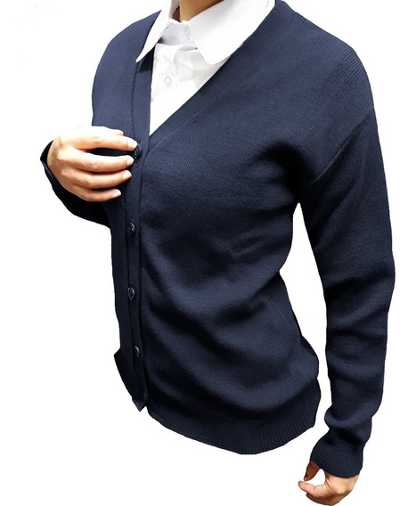 Cardigan Colegial Empresarial (azzurra Para The Uniform Co )