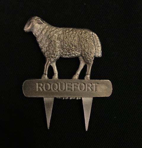Sujeta/señala Quesos Peltre Oveja Roquefort Exclusivo Ariete