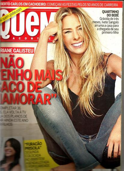 Revista Quem 450/09 - Rita Lee/roberto/galisteu/fda Young