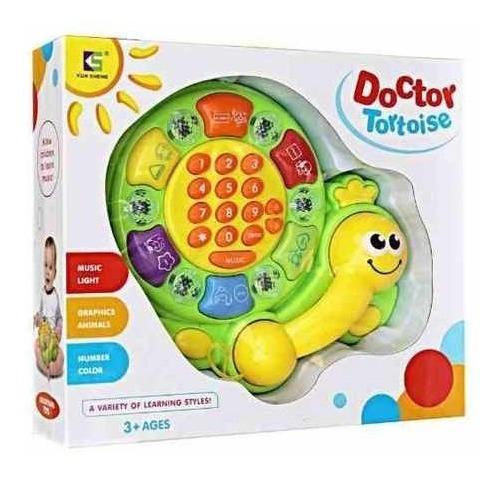 Telefono Infantil Interactivo Con Luz Y Sonido Original