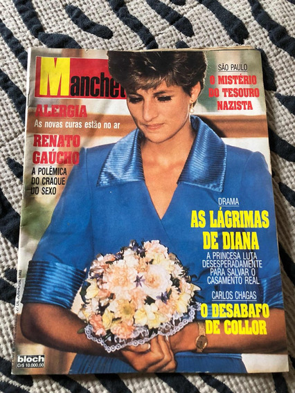 Manchete 92 Diana Renato Gaúcho São Paulo Humberto M Isadora