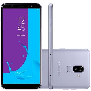Smartphone Samsung Galaxy J8, Prata, Tela 6 , 64gb, 16mp.
