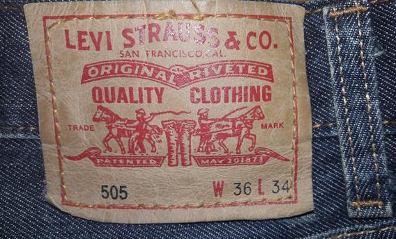 Pantalon Levis Hombre 505 W36 L34