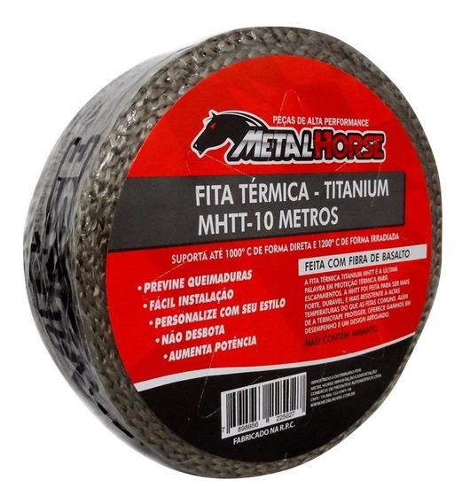 Fita Térmica Termotape Titanium P/ Escapamento Mhtt 10m
