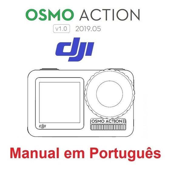 Manual Em Português Impresso Da Dji Osmo Action