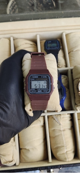 Relógio Casio Vintage Marrom
