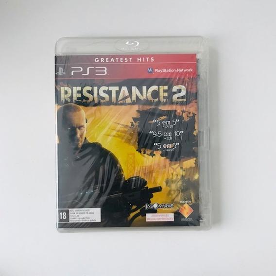 Jogo Resistance 2 Ps3 Original Mídia Física Pronta Entrega