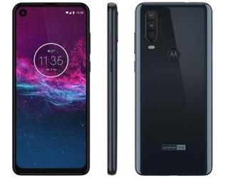 Smartphone Motorola One Action 128gb Azul 4g - 4gb Ram 6,34