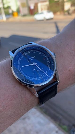 Relógio Alemão Nomos Glashutte In-house Aut(rolex Lange Iwc)