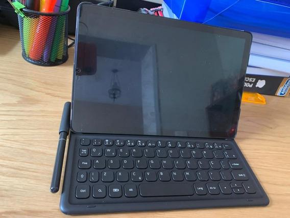 Samsung Galaxy Tab, S4 Com Teclado E Caneta S Pen, 4g