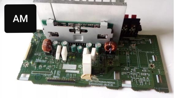 Placa Amplificadora Som LG Mcd605/ Sem A Saída De Som!