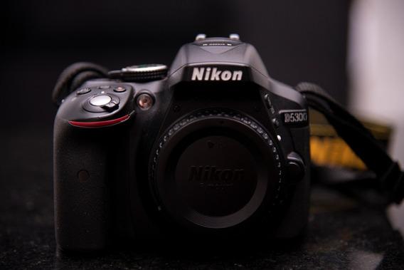 Câmera Nikon D5300 + 50mm 1.8 D