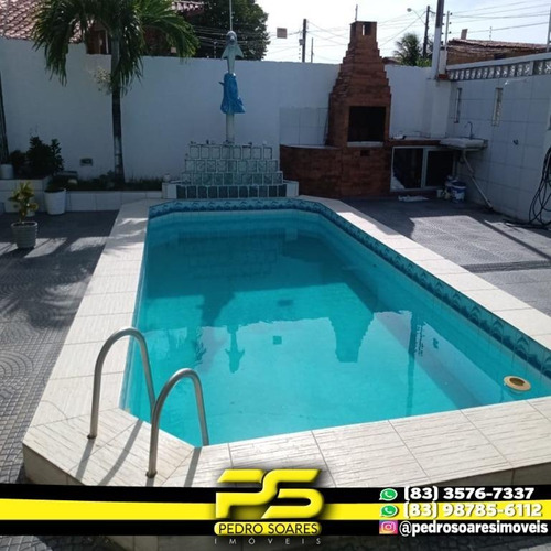 Casa Com 6 Dormitórios À Venda, 600 M² Por R$ 620.000,00 - Bessa - João Pessoa/pb - Ca0547