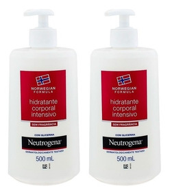 Kit Com 2 Hidratantes Corporal Neutrogena 500ml Frete Grátis