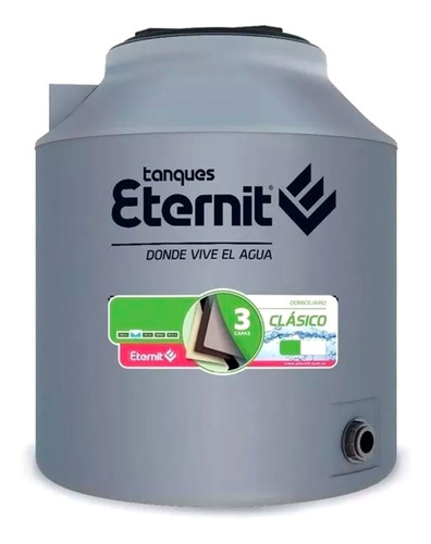 Tanque De Agua 1000 Tricapa Litros Eternit Intemperie Envio