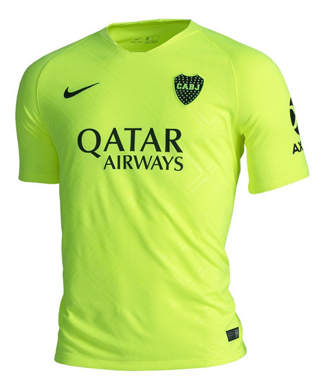 Camiseta Alternativa Nike Boca Juniors Hombre