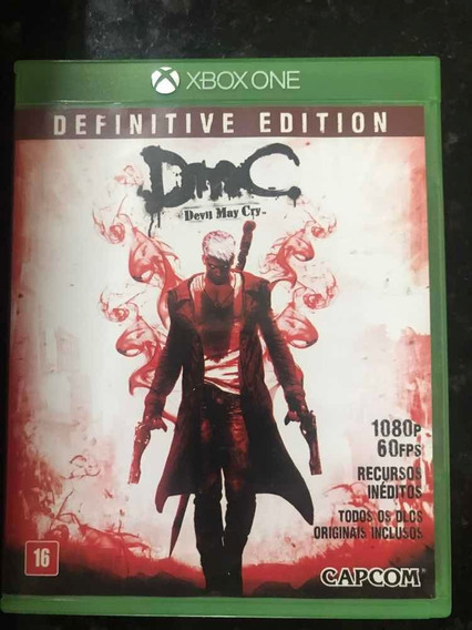 Jogo Xbox One Devil May Cry Dmc Original Mídia Física