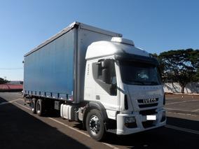 Caminhão Truck Iveco Tector 240e28 6x2 2012/2013 C/baú Sider