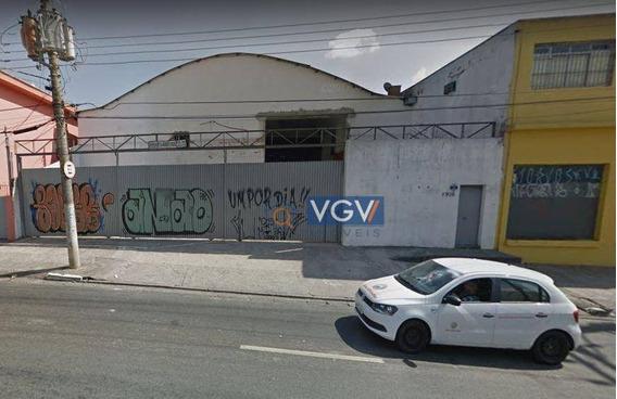 Galpão À Venda, 1000 M² Por R$ 7.500.000,00 - Saúde - São Paulo/sp - Ga0029