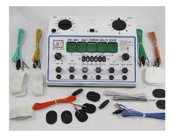 Aparelho Eletroestimulador Kwd 808i Profissional 06 Canais