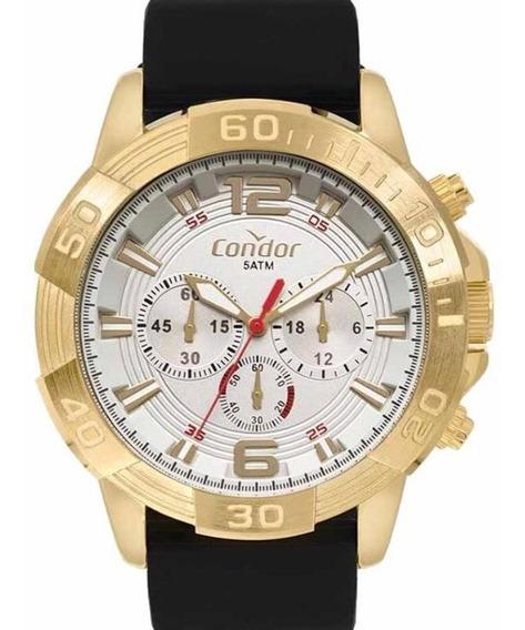 Relógio Masculino Banhado A Ouro Condor Original